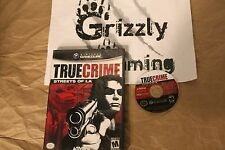 USED True Crime Streets of LA Nintendo GameCube (NTSC) TESTED and WORKING