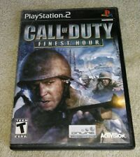 Call of Duty: Finest Hour PlayStation 2 2004 Activision Complete Tested