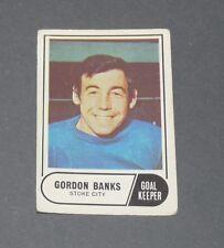 A & BC GUM CARD FOOTBALL ENGLAND 1969 GORDON BANKS STOKE CITY POTTERS