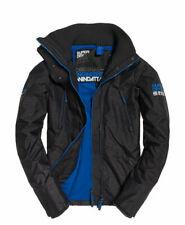 Superdry Men's L Dark Charcoal Marl Polar SD-Wind Attacker Windattacker Jacket