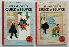 Lot BD - Quick et Flupke 4 & 5 / B17 -1956 & B10-1954 /  HERGE / CASTERMAN