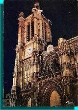 CPM - TROYES - La cathedrale st paul vue de nuit