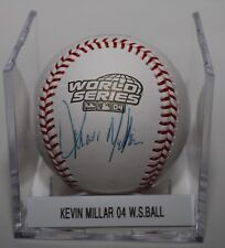 Kevin Millar  Signed Autographed 2004 World Series ROMLB Baseball Red Sox