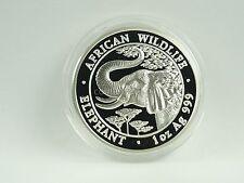 *** 1000 chelines plata somalia 2005 African Wildlife Elephant elefante ***