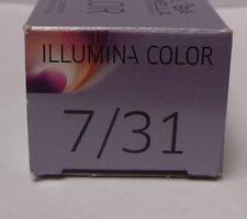 Wella Illumina -7/31 rubio medio ceniza de oro 60ml