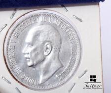 3 Mark Deutsches Reich A Mecklenburg - Strelitz unz stgl