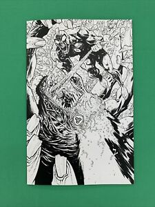 Ultramega By James Harren #31:5 Incentive Black & White Virgin Variant Image