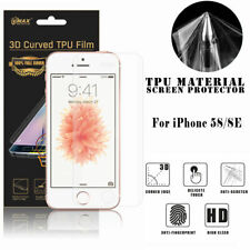 Full Coverage Screen Protector For iPhone 5 5s Phone Vmax TPU Cover Clear Film