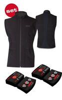 Lenz Heizweste Set Of Heat Vest 1.0 Men + Lithium Pack Rcb 1800