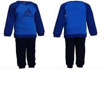 Ropa de niño de 2 a 16 años azul adidas de poliéster