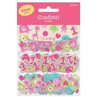 Safari Jungle Baby 1st Birthday Animal Confetti Bag Fillers Decor Party Favor