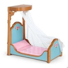 American Girl Doll Marie Grace and Cecile's Half Canopy Bed & Bedding NEW!!