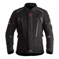 Waterproof Motorcycle Jacket > Wolf Titanium CE Outlast Textile - Black