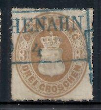 Oldenburg stamps 1862 MI 19A  CANC  VF