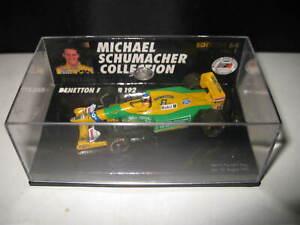 MINICHAMPS 1/64 BENETTON FORD B192  MICHAEL SCHUMACHER #19 OLD STOCK #641100