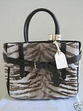 $1,890 REED KRAKOFF Boxer Tote Leather Handbag Bag in Tiger Print Calf Hair