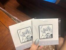 Inuyasha Sesshomaru Rin Rumiko Kagome Kikyo Naraku Metal Badge Brooch Pin kid b