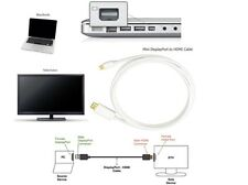 6FT Thunderbolt Mini DisplayPort to HDMI Cable for MacBook Air Pro iMac MAC mini