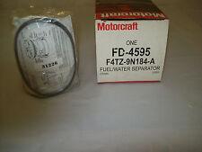 MOTORCRAFT FUEL FILTER FD-4595 FORD #F4TZ-9N184-A FORD & INT TRUCKS W/7.3L