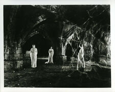 Dracula spooky scene three women in dungeon with cobwebs 8x10 photo
