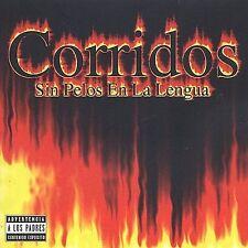 Various Artists : Corridos Sin Pelo En La Lengua CD
