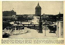 Hauptansicht internationale Kunst- und Gartenbau- Austellung in Mannheim * 1907