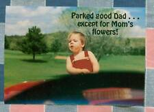 50 Postcards Little Lee Comic Trucking Parked Good Dad . . except Mom's Flowers