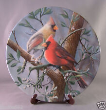 "Bradford - Knowles China Company - Birds of your Garden - "" The Cardinal """