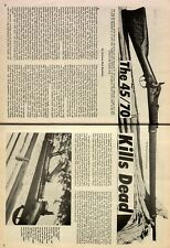 The 45/70 Kills Dead;Allin,Apache,Barnes,Boothroyd,Bowman,Comanche,Kubista