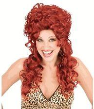 Adult TV Show Peggy Bundy Trailer Park Trophy Wife Auburn Red Hair Costume Wig