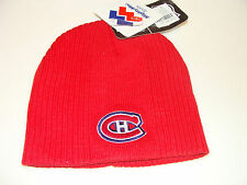 Montreal Canadiens Kids Child Toque Beanie Cap Hat 4-6x OS Most Mighty Mac