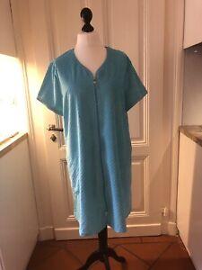 Saunakleid Badekleid Kasack Strandkleid  mit seitl. Taschen, 46/48 sehr schön!