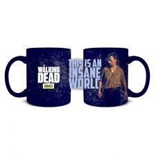 "THE WALKING DEAD ""INSANE WORLD"" 20 oz Coffee or soup Mug licensed NEW"
