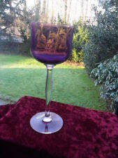 Jugendstil Weinglas Tulpe um 1915 Sammler  Antik  Art Nouveau  Amethyst Vintage