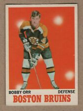 1970-71 Bobby Orr Hockey O-Pee-Chee card #3 Ex-Ex+ Buy It Now     149.99$