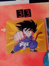 dragon ball mini card amada bola de dragon serie 1 n 33