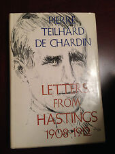 Pierre Teilhard de Chardin Hastings letters, Christianity, evolution, theology