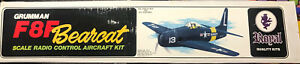 Royal - Gruman F8F Bearcat Scale Radio Control Aircraft kit,  62 1/16in Wingspan