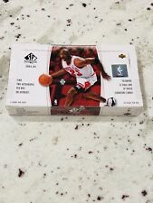 🔥 2004 Upper Deck SP Authentic Basketball Hobby Box Factory Jordan Lebron Hot!!