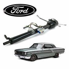 """1957-70 Ford Fairlane Keyed Black Tilt Steering Column 33"""" 500 332 352 bb fe v8"""