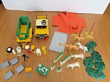 Playmobil 3189 Knorongoro  Safari Expedition, Jeep w trailer, Zebras,Giraffes