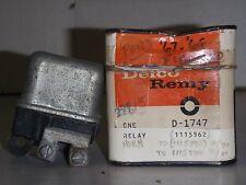 1968-69 CHEVROLET CORVETTE/CAMARO SS-Z28 N.O.S. HORN RELAY PART # 1115862