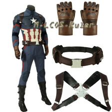 Movie Avengers:Endgame Steven Rogers Captain America Cosplay Costume Accessories
