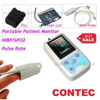 CONTEC PM50 Patient monitor Portable Blood Pressure Monitor NIBP SPO2 PR