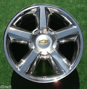 New Avalanche Tahoe Suburban Wheel Polished 20 inch LTZ OEM GM Style Chevy 5308