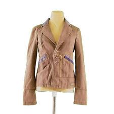 DIESEL jacket Denim switching Ladies Authentic Used H534