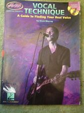 Dena Murray: Vocal Technique - A Guide To Finding Your Real Voice. Book, CD