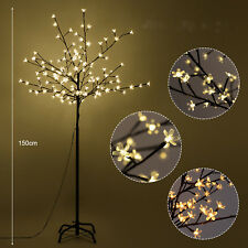 LED Light Cherry Blossom Tree Indoor Outdoor 1.5m 150 LEDs Christmas Xmas Decor