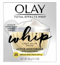Olay Total Effects Whip Active Moisturizer with SPF 25 ~ 1.7 OZ