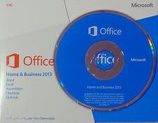 MS OFFICE 2013 Home & Business | Vollversion | Dauerlizenz | DVD/CD  Deutsch
